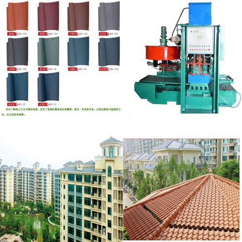 Tile machine can take advantage of waste fly ash as raw material