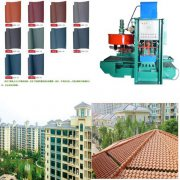 TR - 128 type roof tile machine